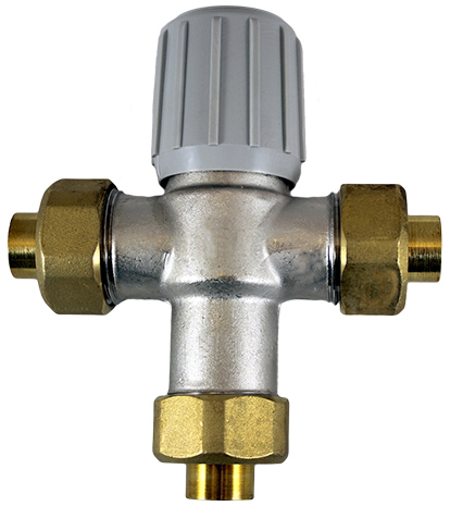 "3/4"" Anti Scald Valve be Used in DHW Systems where HWG Set-Point is 150°F"