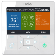 Single Zone Programmable Wired Remote Controller